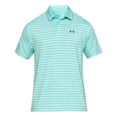 Under Armour Mens Playoff 2.0 Polo Green S, Green, rebel_hi-res