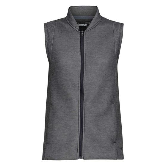 Under Armour Womens Move Light Vest, Black, rebel_hi-res