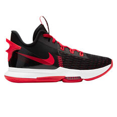 Nike LeBron Witness V Mens Basketball Shoes Black US 5.5, Black, rebel_hi-res