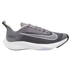 Nike Air Zoom Speed 2 Kids Running Shoes Black/Pink US 1, Black/Pink, rebel_hi-res
