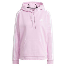 adidas Womens Essentials Hoodie Purple XS, Purple, rebel_hi-res