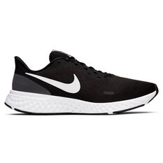 Nike Revolution 5 Mens Running Shoes Black/White US 7, Black/White, rebel_hi-res