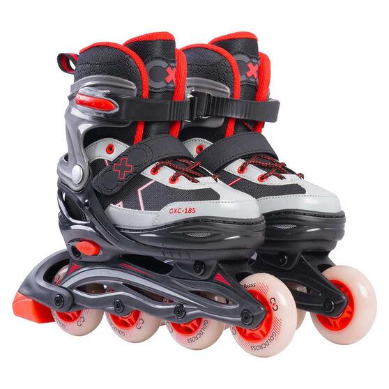Goldcross GXC185 Kids Inline Skates, Red, rebel_hi-res