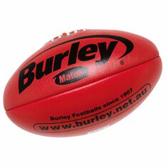 Burley AFL Match Australian Rules Ball Red 3, Red, rebel_hi-res