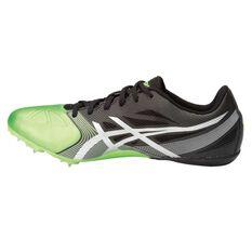 Asics Hyper Sprint 6 Mens Track Spikes Grey / Silver US 8, Grey / Silver, rebel_hi-res