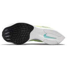 Nike ZoomX Vaporfly Next% 2 Womens Running Shoes, Volt/Black, rebel_hi-res