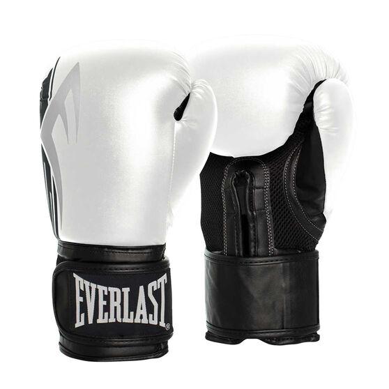 Everlast Pro Style Power Training Gloves, White / Black, rebel_hi-res