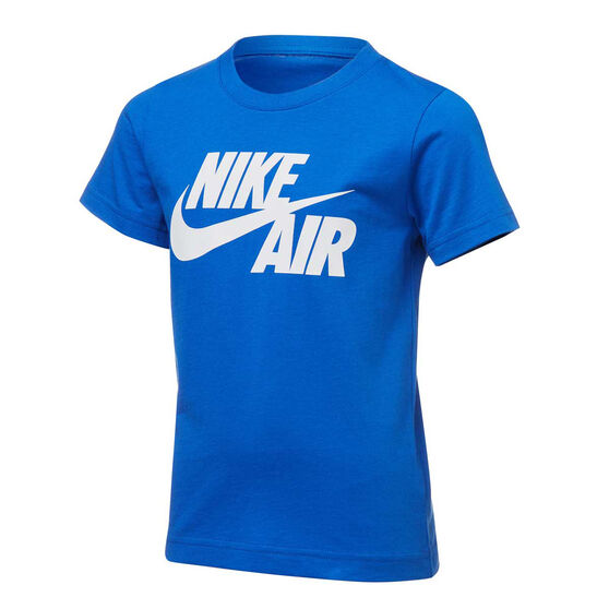 Nike Boys Air Swoosh Tee, Blue/White, rebel_hi-res