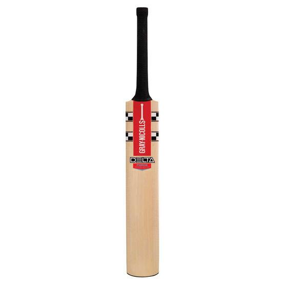 Gray Nicolls Delta Force Junior Cricket Bat, Black, rebel_hi-res