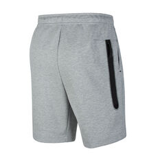 Nike Mens Sportswear Tech Fleece Shorts, Grey, rebel_hi-res