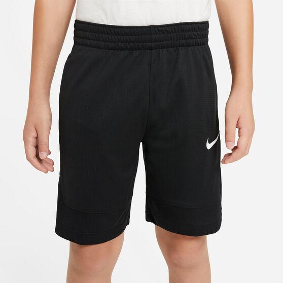 Nike Boys Basketball Shorts, Black, rebel_hi-res