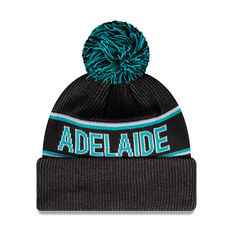 Port Adelaide Power New Era Supporter Beanie, , rebel_hi-res
