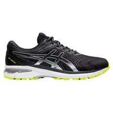 Asics GT 2000 8 Lite Show Mens Running Shoes Black / Silver US 7, Black / Silver, rebel_hi-res