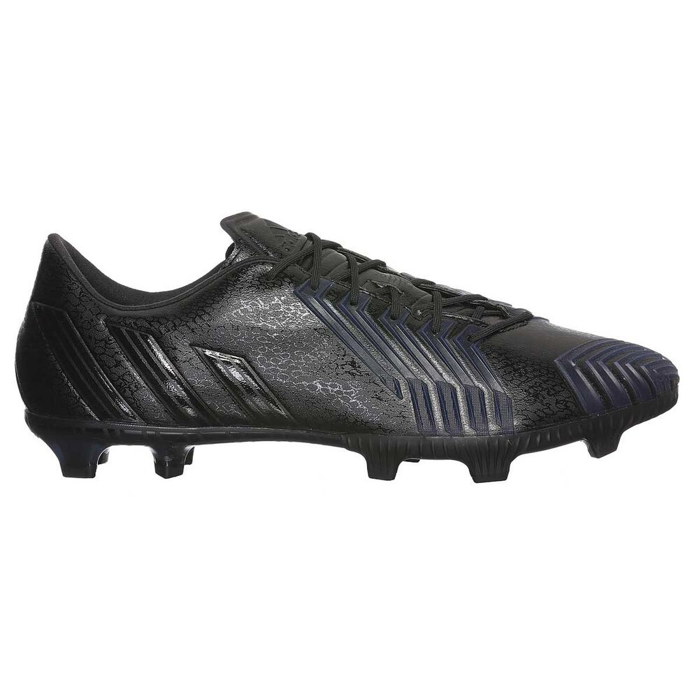 e98cc604d0a4 adidas Predator Instinct Mens FG Football Boots Black   Black US 8 Adult