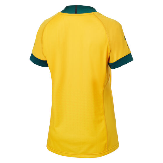 Wallabies 2019 Rugby World Cup Womens Home Jersey, Gold, rebel_hi-res