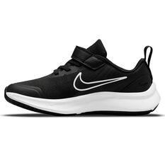 Nike Star Runner 3 Kids Running Shoes Black/Grey US 11, Black/Grey, rebel_hi-res