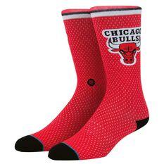 Stance Mens Chicago Bulls Jersey Sock, , rebel_hi-res