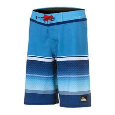 """Quiksilver Boys Highline Slab 17"""" Board Shorts Blue 8, Blue, rebel_hi-res"""