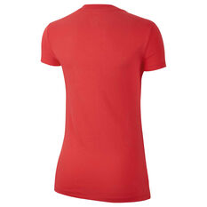 Nike Womens Sportswear Just Do It Tee Red XS, Red, rebel_hi-res