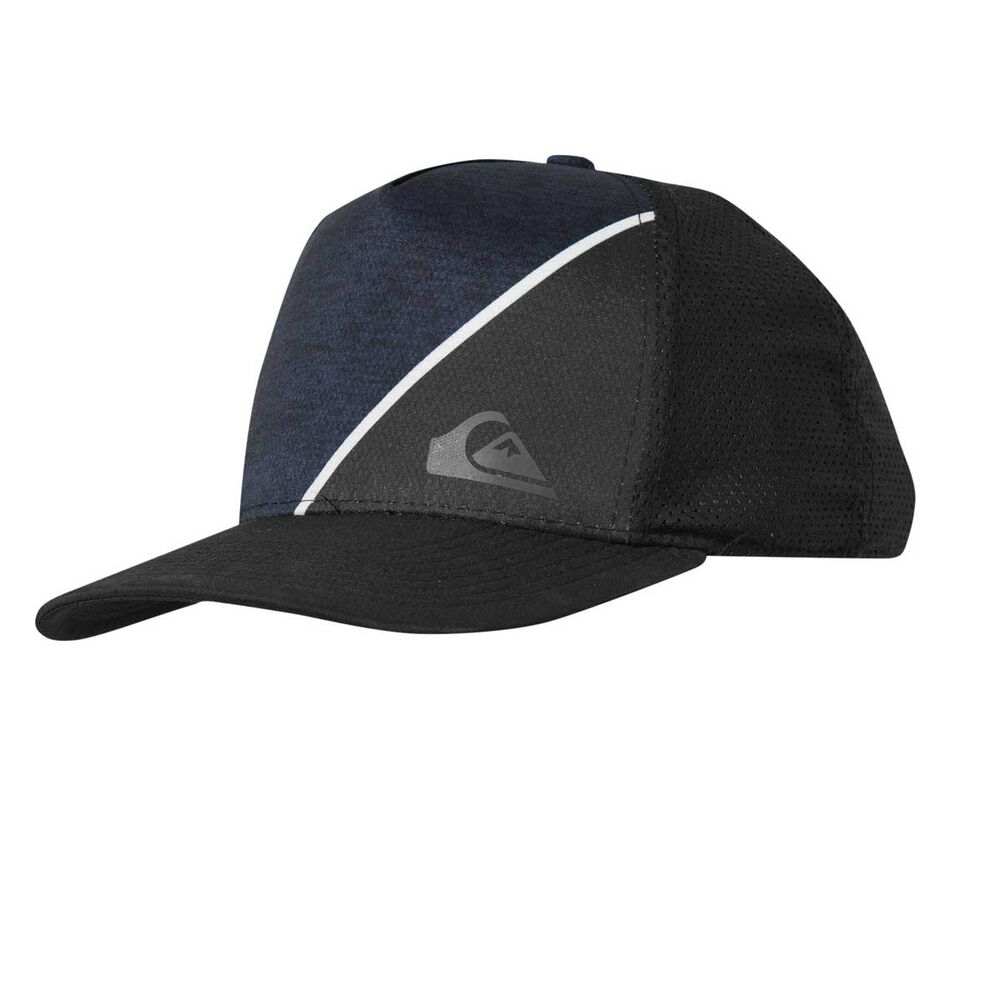 Quicksilver Boys New Wave Trucker Cap Black OSFA  25fa715b503