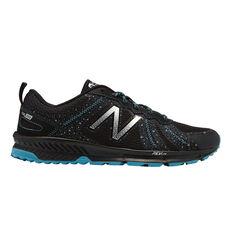 New Balance 590v4 Mens Trail Running Shoes, Black / Blue, rebel_hi-res