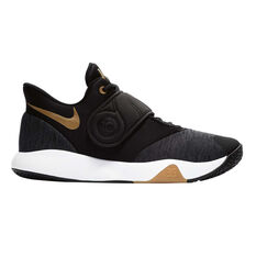 Nike KD Trey 5 VI Mens Basketball Shoes Black / Gold US 7, Black / Gold, rebel_hi-res