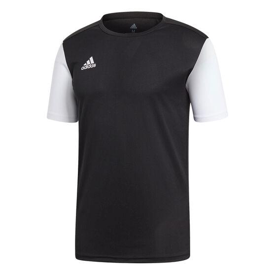 adidas Mens Estro 19 Football Jersey, Black, rebel_hi-res