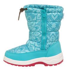 Tahwalhi Wizard Girls Snow Boots Blue US 11, Blue, rebel_hi-res