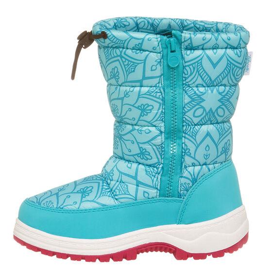 Tahwalhi Wizard Girls Snow Boots, Blue, rebel_hi-res