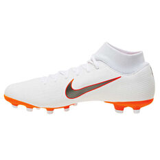 Nike Mercurial Superfly 6 Academy MG Mens Football Boots White / Grey US 7, White / Grey, rebel_hi-res