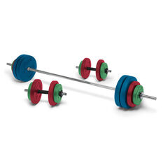 Celsius 50kg Coloured Vinyl Weight Set, , rebel_hi-res