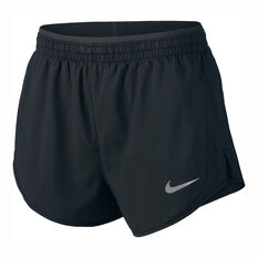 Nike Womens Tempo Luxe 3in Running Shorts Black XS, Black, rebel_hi-res