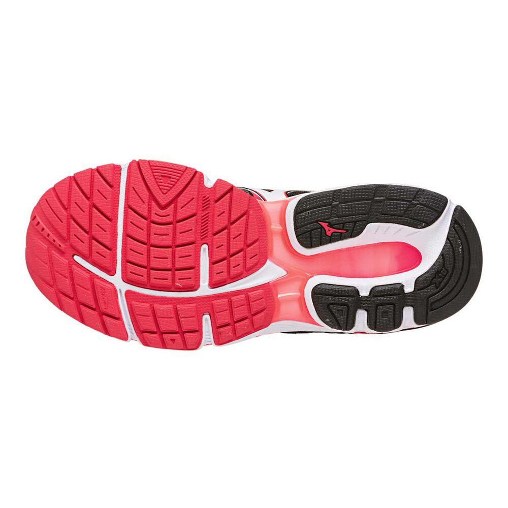 Mizuno Wave Inspire 13 Womens Running Shoes Black   White US 7 ... 69f81f7255