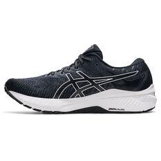 Asics GT 2000 10 Mens Running Shoes Black/White US 7, Black/White, rebel_hi-res