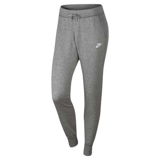 Nike Womens Sportswear Fleece Tight Pants Grey / Silver XL, Grey / Silver, rebel_hi-res