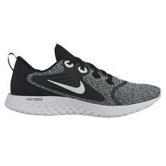 Nike Legend React Womens Running Shoes Black / White US 6, Black / White, rebel_hi-res