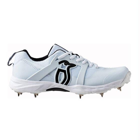 Kookaburra Pro 2000 Cricket Shoes, White, rebel_hi-res