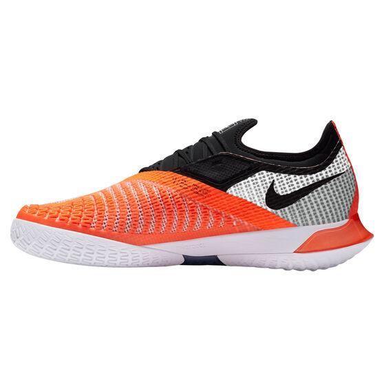 NikeCourt React Vapor NXT Hardcourt Mens Tennis Shoes, White/Black, rebel_hi-res