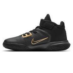 Nike Kyrie Flytrap 4 Kids Basketball Shoes Black US 11, Black, rebel_hi-res