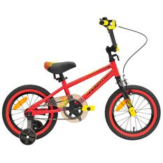 Flight Boys Wing 95 14in BMX Bike Red / Yellow 35cm, , rebel_hi-res