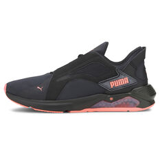 Puma LQDCELL Method Pearl Womens Training Shoes Black/Coral US 6, Black/Coral, rebel_hi-res