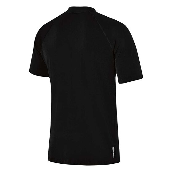 Speedo Mens Relaxed Sun Top, Black, rebel_hi-res
