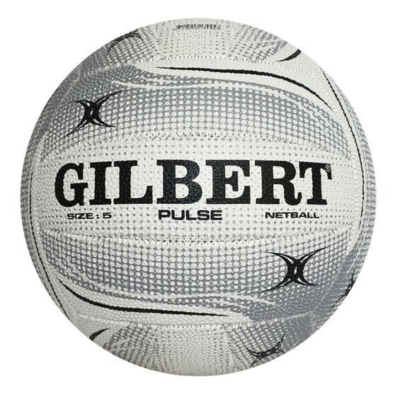 Gilbert Pulse Netball, White, rebel_hi-res