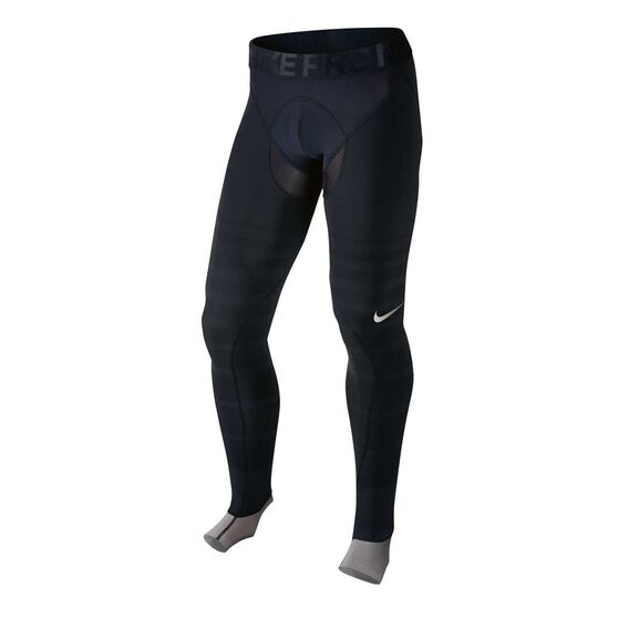 Nike Mens Pro Hyperrecovery Tights Black M, Black, rebel_hi-res