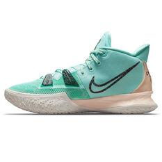 Nike Kyrie 7 Copa Basketball Shoes Aqua US 7, Aqua, rebel_hi-res