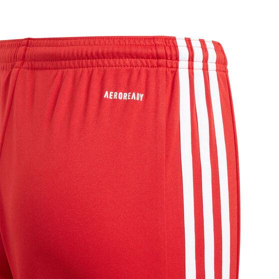 Adidas Boys Squadra 21 Shorts, Red, rebel_hi-res
