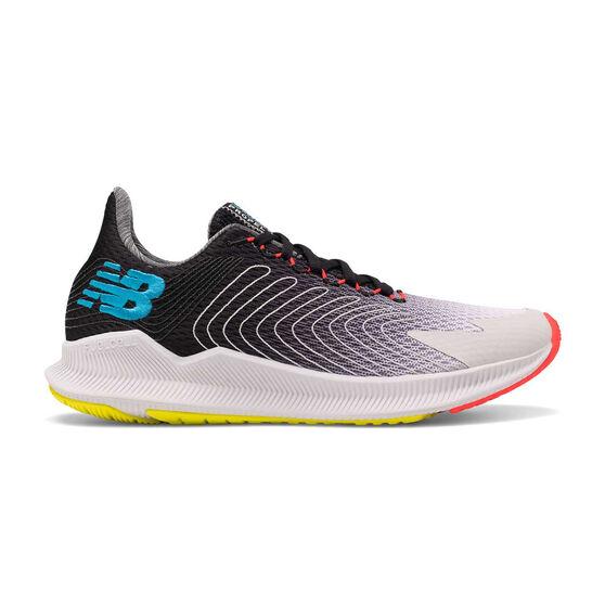 New Balance FuelCell Propel Mens Running Shoes, Black / Grey, rebel_hi-res