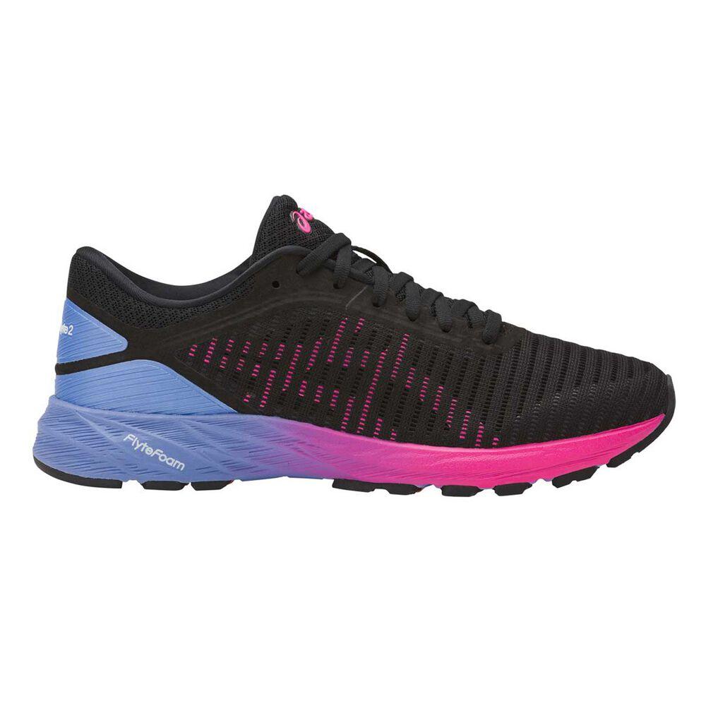 0b0aec23c593d Asics Dynaflyte 2 Womens Running Shoes Purple   White US 6