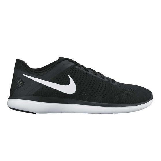 huge discount ad9fb 580ab Nike Flex 2016 RN Mens Running Shoes Black   White US 8.5, Black   White