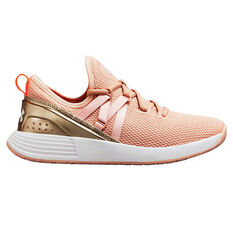 Under Armour Breathe Trainer Womens  Training Shoes White / Gold US 6, , rebel_hi-res